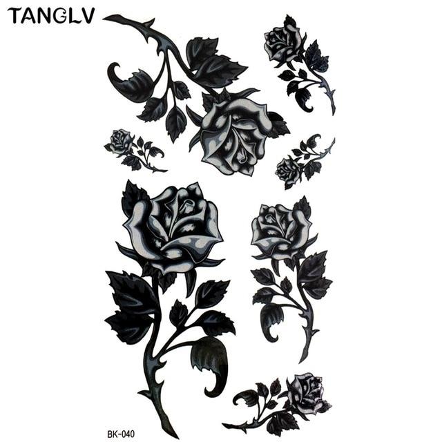 Hd Grand Taty Main Dessin Noir Blanc Rose Fleurs Papillon Eau