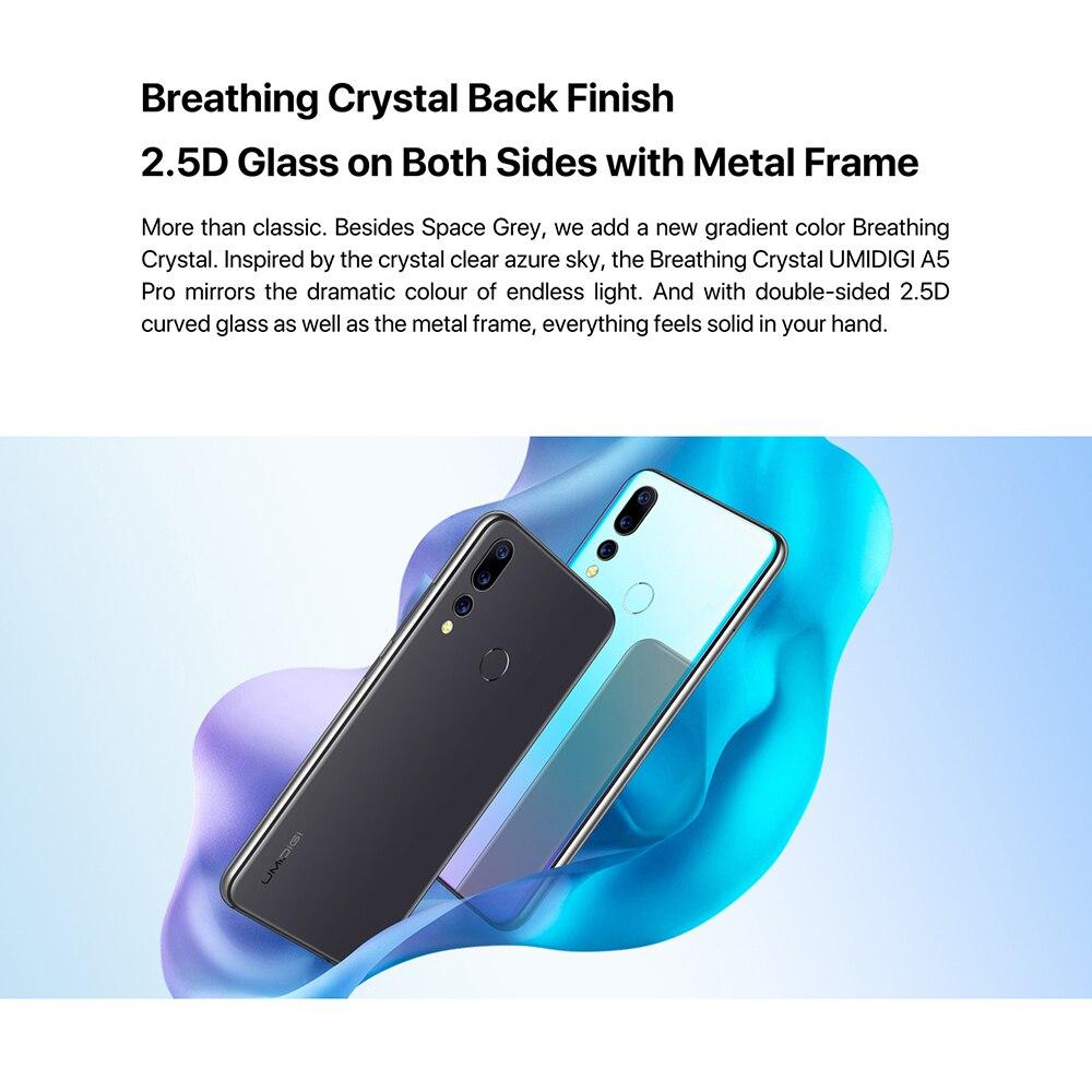"HTB1C7KFeGSs3KVjSZPiq6AsiVXaD UMIDIGI A5 Pro Android 9.0 Octa-core 6.3"" Mobile Phone 16MP Triple Camera 4150mAh 4+32GB Global LTE 4G Fingerprint Smartphone"