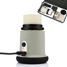 2000mAh 1200RPM Lithium Battery Charging Electric Shoe Brush  Polishing Machine USB Connector Electric Shoe Brush  Leather Care