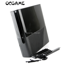 ChengChengDianWan Free shipping black full set Housing Shell Case for XBOX360 E Slim console replacement