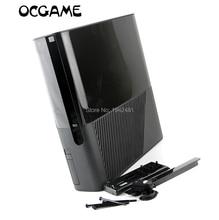 ChengChengDianWan Gratis verzending zwart volledige set Behuizing Shell Case voor XBOX360 E Slanke console vervanging