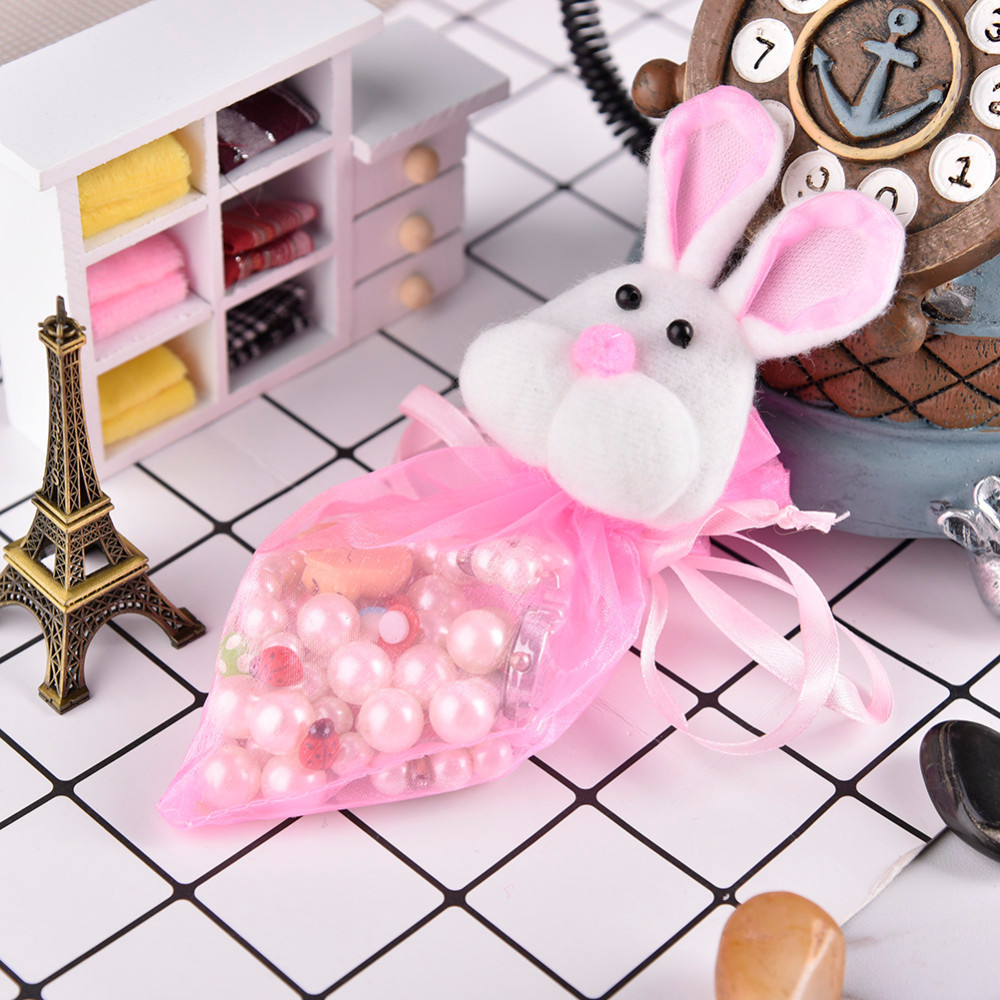 Wholesale 1pcs easter bunny candy bag drawstring gift bag cute wholesale 1pcs easter bunny candy bag drawstring gift bag cute rabbit gift bags wedding pouches nice gadgets bag for home decor in gift bags wrapping negle