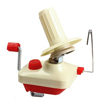 Knitting Crochet Hand Operated Swift Yarn Wool String Ball Skein Winder Holder