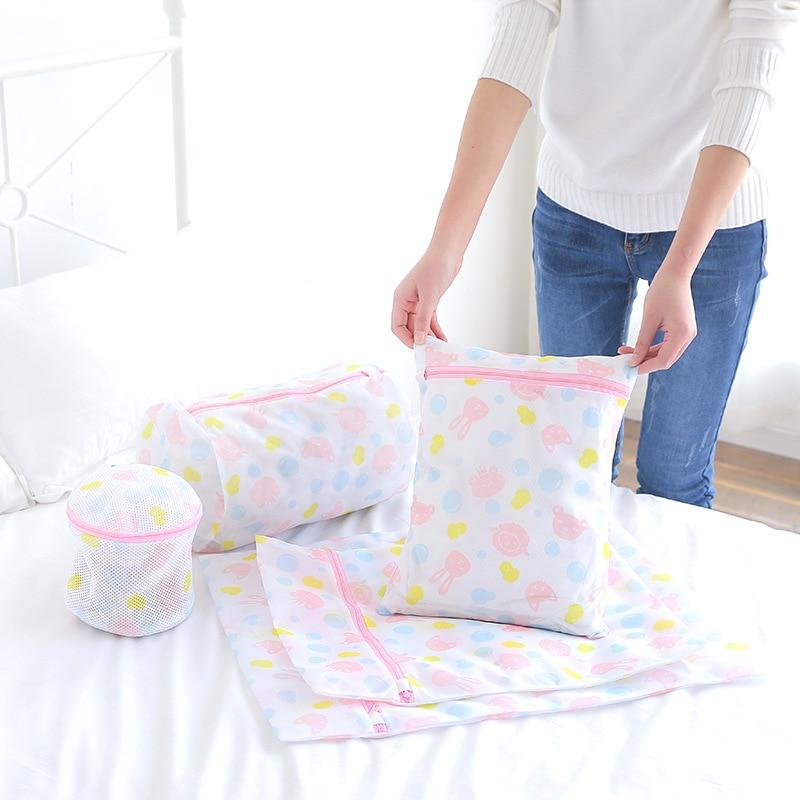 Fine Mesh Laundry Bags Thicken Bra Washing Bag for Washing Machine Avoid Clothing Damage Travel Laundry Bag Home Organizer