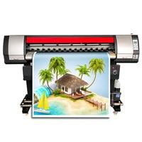 1.8m solvent printer poster 180cm printer banner printing machine single print head free shipping one year warranty CMYK