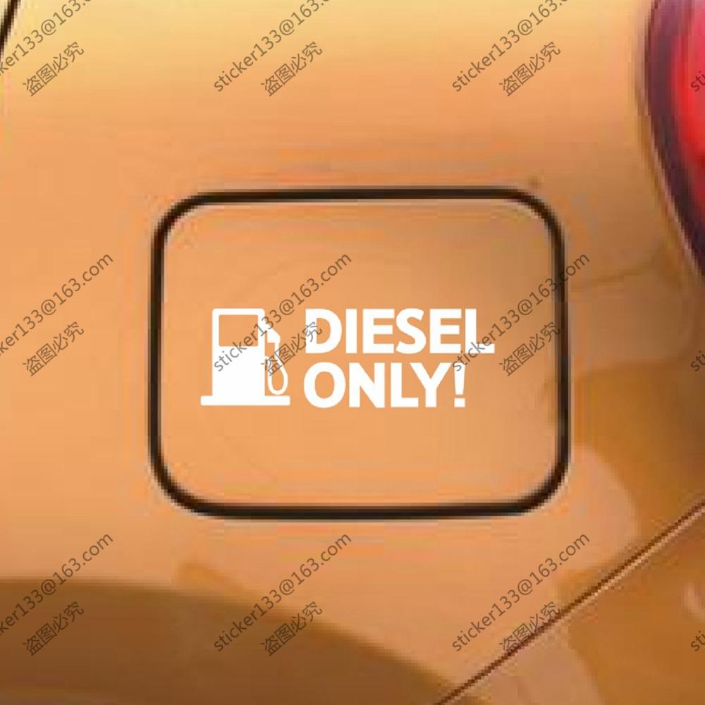Diesel Nur Olwarn Tankdeckel Vinyl Auto Aufkleber Auto Aufkleber 12
