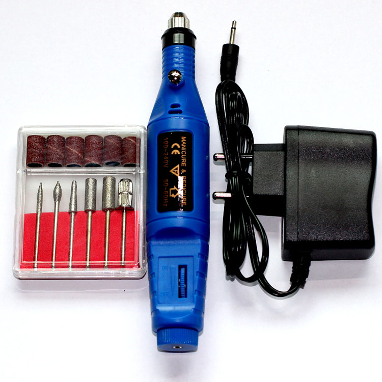 US $6 98 50% OFF|6bits Nail Shaping Drill Set Sanding Sleeves Sanding Drum  Mandrel Drill Bits Manicure Drill Set Pedicure Tools Sanders Grit Kit-in