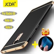 for xiaomi redmi note 4x case for xiaomi redmi note 4 back cover thin hard 3 in 1 protective coque fitted xiaomi redmi 4x cases