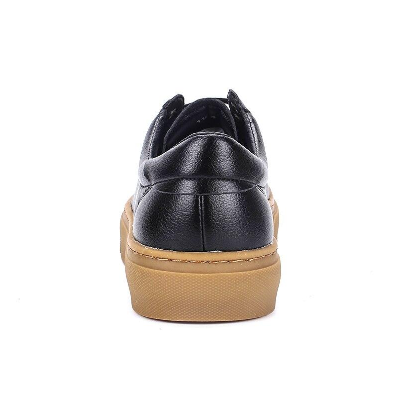 Blanc Appartements Nouvelle Italien Occasionnels Noir Noir Hommes Yomior Espadrilles Mode Hiver Véritable Mocassins De Automne Chaussures Respirant En blanc Cuir dOwPPqt