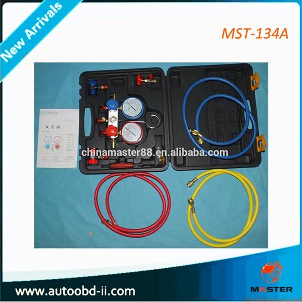 Promotion refrigeration equipment refrigeration air conditioning tools mst-134a Refrigeration Manifold Gauge air conditioning