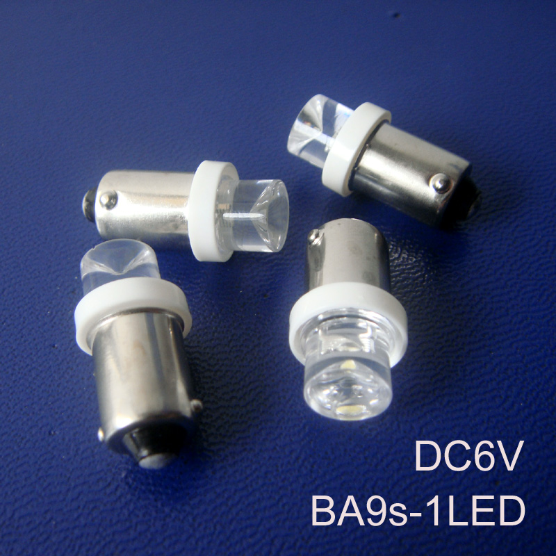 High quality 6.3V BA9S led bulb,BA9S 6V led Instrument Lights,led ba9s 6V lamp,BA9S LED indicating lamp free shipping 500pcs/lot image
