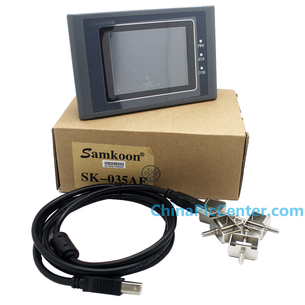 SAMKOON Display and control HMI Touch Screen SK-035AE 3.5  Color TFT New samkoon display and control hmi touch screen sk 035ae 3 5 color tft new