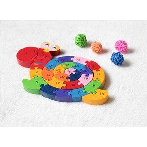 Image 5 - Nuovi Giocattoli Educativi Cervello Gioco Per Bambini di Avvolgimento Lumaca Figura Giocattoli di Legno Per Bambini In Legno 3D Puzzle Di Legno Brinquedo Madeira di Puzzle Per Bambini