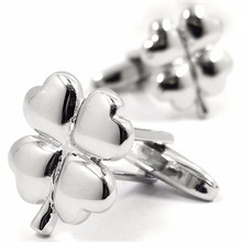 MFYS The Clover Luckly Cufflinks for mens jewelry Classic Design Cufflink Novelty Gift 150292