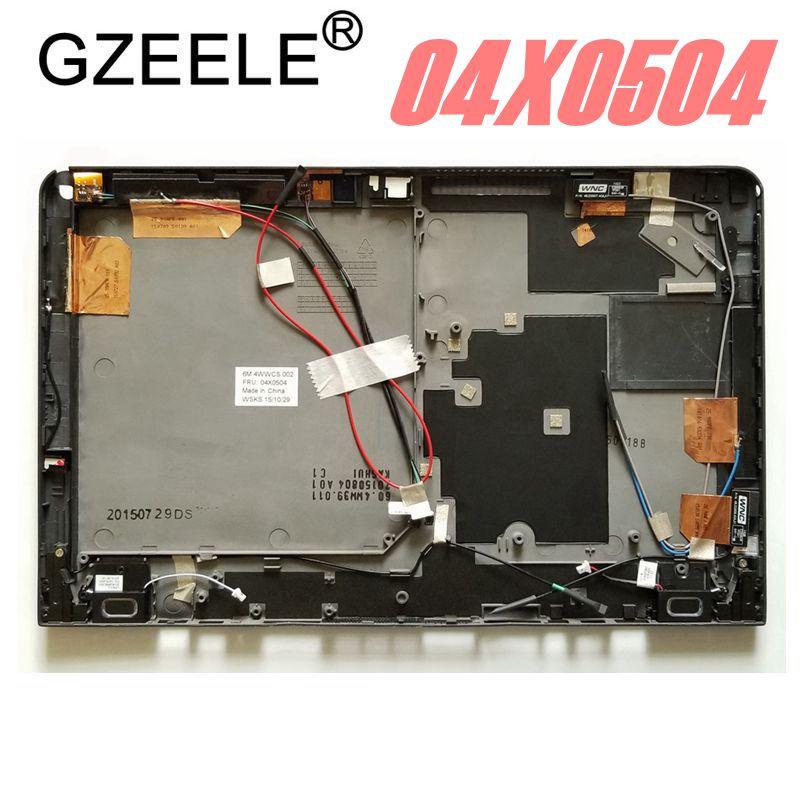 GZEELE nouveau ordinateur portable haut LCD couverture arrière pour LENOVO pour ThinkPad X1 HELIX (Type 3xxx) X1H 04X0504 couverture arrière LCD Top case noir