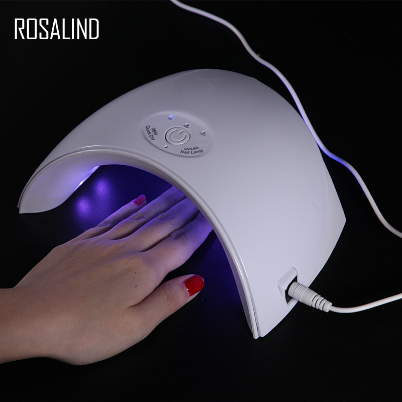ROSALIND Nail Art Tools 36W UV LED Lamp Nail Polish Dryers Fast Soak off Double Power lamp for Manicure USB Charge Nail Dryer ROSALIND Nail Art Tools 36W UV LED Lamp Nail Polish Dryers Fast Soak off Double Power lamp for Manicure USB Charge Nail Dryer