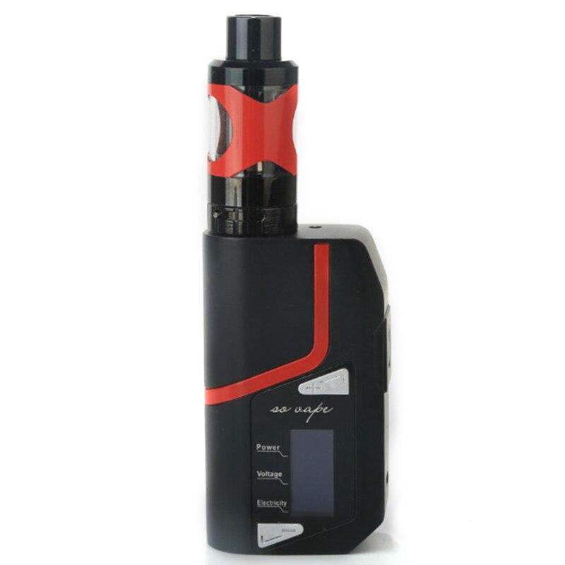 Cigarette électronique 100 W Vape Mod boîte vaporisateur 3 ml réservoir fumer Shisha stylo Mech E fumée Kit grand fumeur LED énorme vapeur - 6
