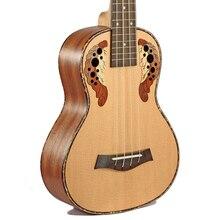 Afanti  Music 23 inch small Guitar / Engelmann Spruce / 23 inch Ukulele (DGA-145)
