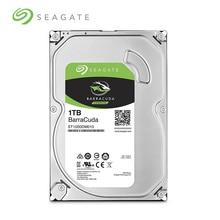 シーゲイト 1 テラバイトデスクトップ PC の HDD SATA 6 ギガバイト/秒 32 メガバイト 7200 rpm キャッシュ 3.5 インチ内蔵ハードディスクドライブ (ST1000DM010)