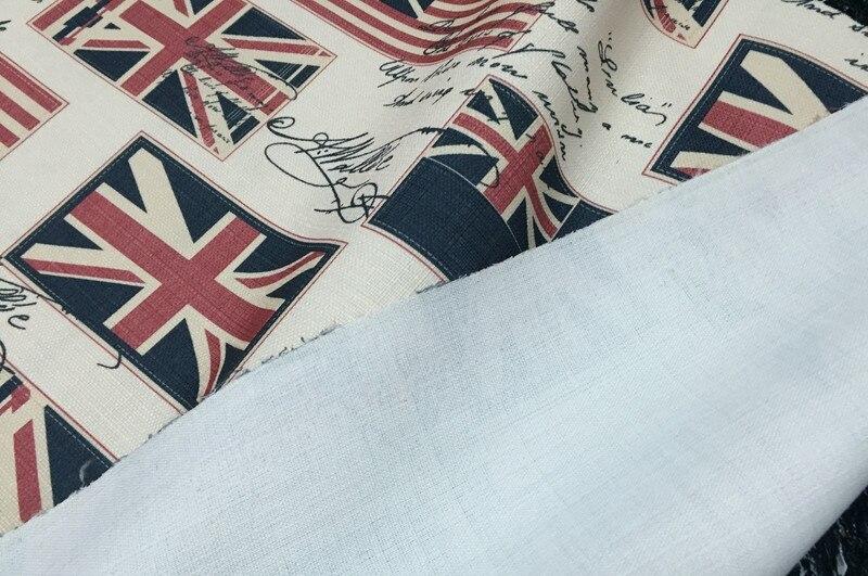 100x140cm Union Jack Uk Flag Vintage Fabrics For Tablecloth Sewing