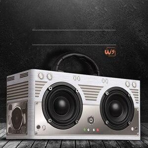 Image 2 - Abuzhen Bluetooth Speaker Portable Speaker Column Soundbar Wireless Speakers Stereo MP3 Music Player AUX TF Subwoofer Phones