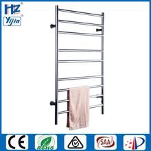 Нержавеющая сталь 304 настенный лак/черная электрическая стойка полотенцесушитель/сушилка/радиаторы HZ-928A