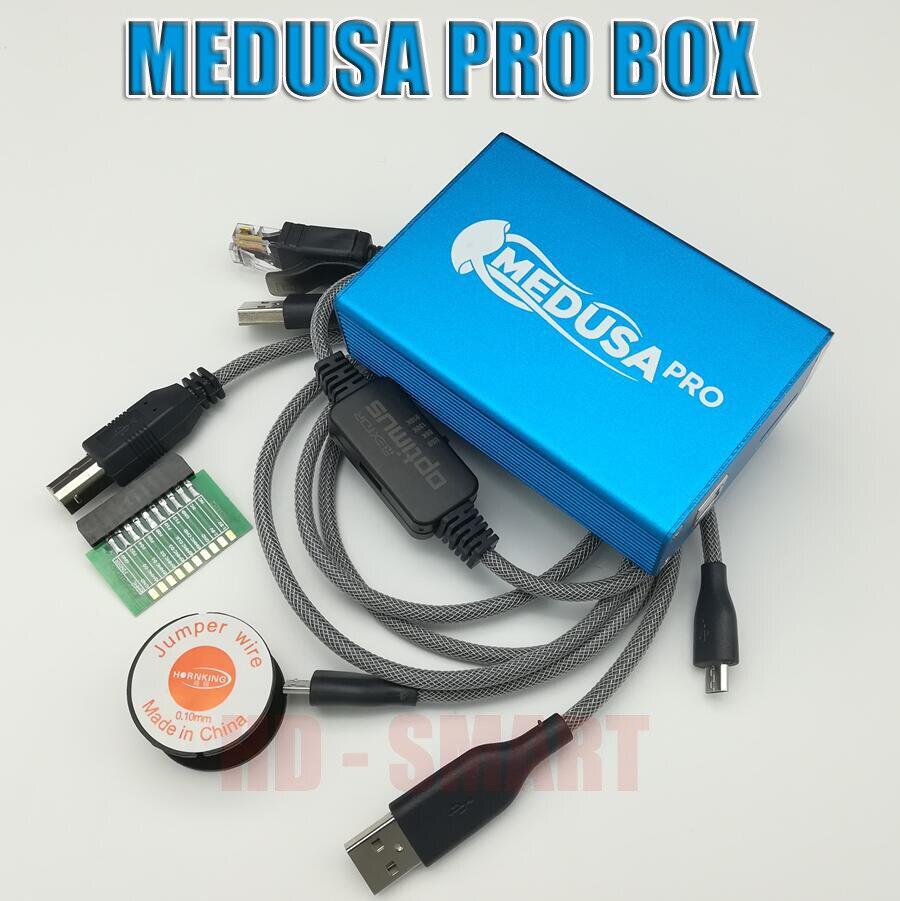 2018 Original nouveau Medusa PRO boîte Medusa boîte + JTAG Clip MMC pour LG pour Samsung pour Huawei avec câble Optimus