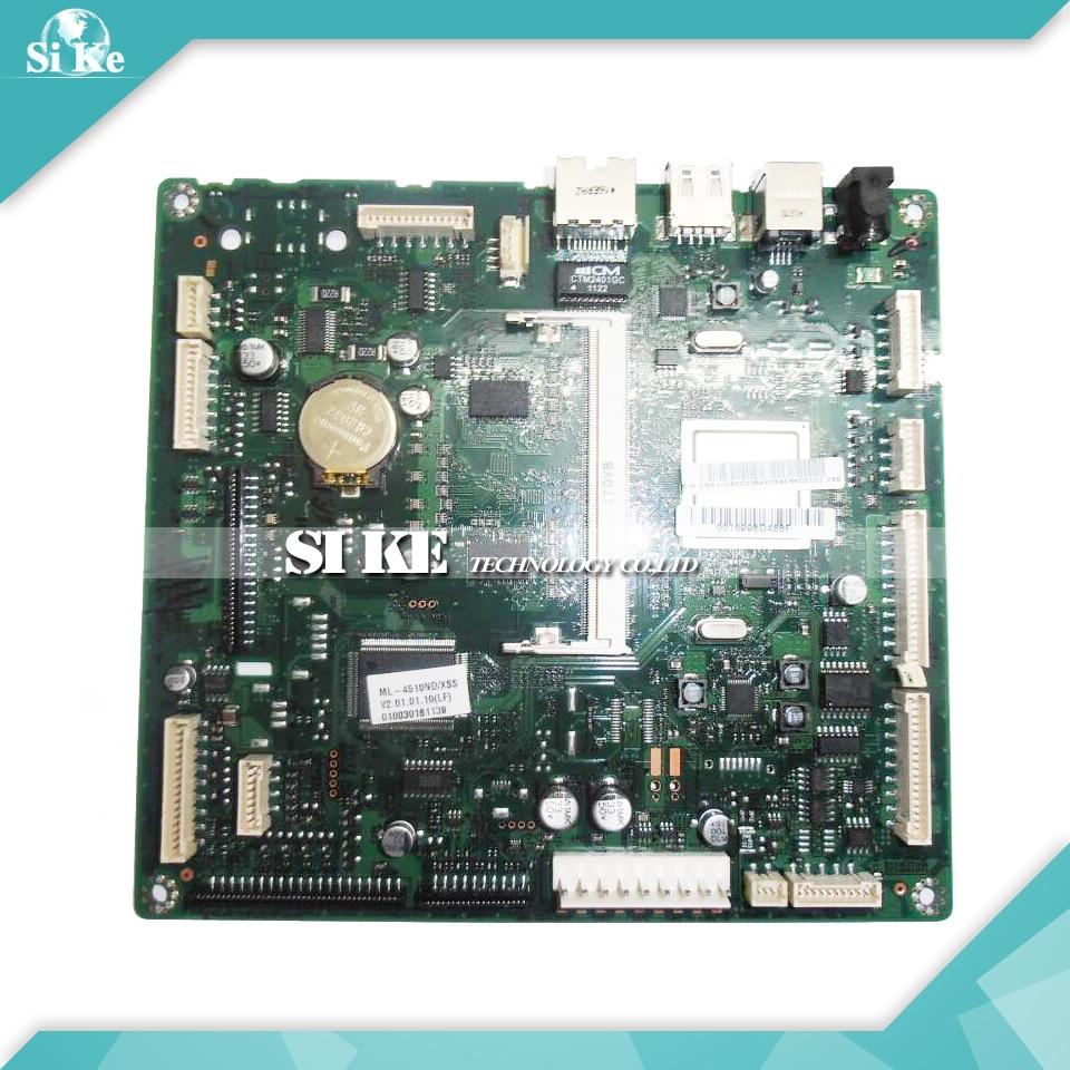 Laser Printer Main Board For Samsung ML-4510ND ML-4510 ML 4510ND 4510 ML4510ND ML4510 Formatter Board Mainboard Logic Board laser printer main board for samsung scx 4100 scx 4100 scx4100 formatter board mainboard logic board