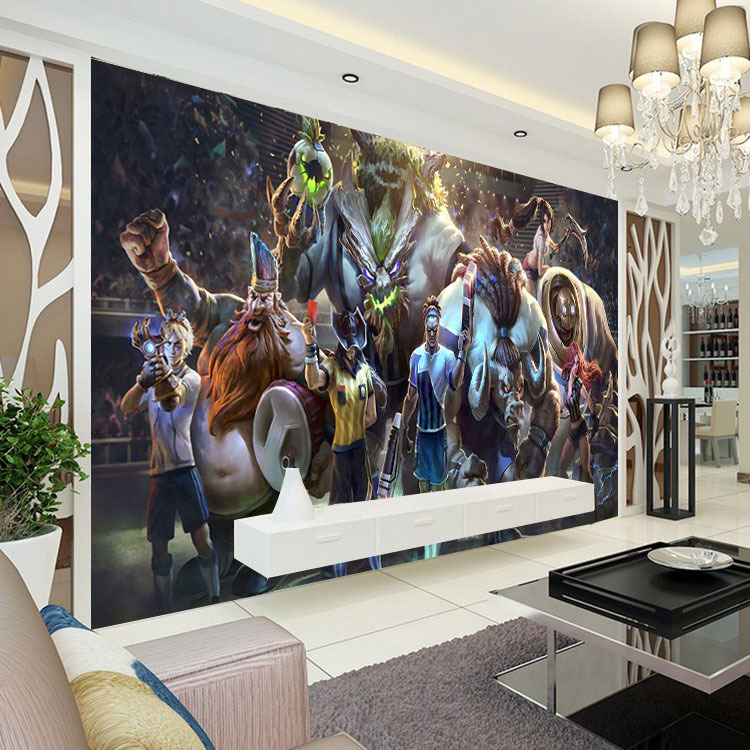 3D Game Wall Mural League Of Legends Photo Wallpaper Custom Boys Bedroom Livingroom Large