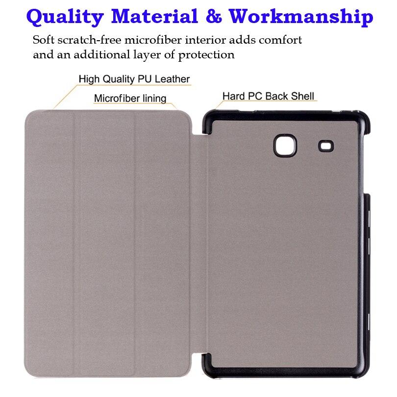 Funda con tapa para Samsung Galaxy TAB A 7 T280 T285 7 pulgadas Funda - Accesorios para tablets - foto 4