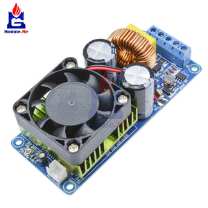 Image 1 - IRS2092S הכפול DC אספקת חשמל 500W מונו ערוץ דיגיטלי מגבר כיתת HIFI Power Amp לוח מודול הגנה קצרה