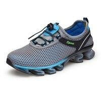 גודל 39-46 החלקה ריפוד בריכת עמידות נעלי ריצת ספורט גברי נעלי אימון אתלטי נעלי ספורט נעלי ריצה