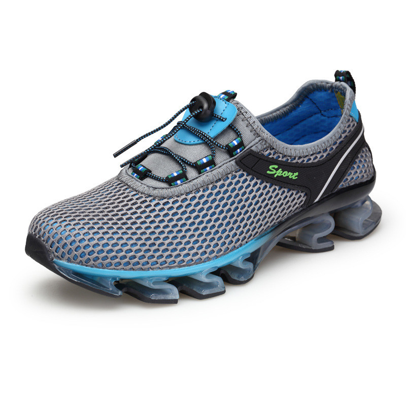 Size 39-46 Non-slip Cushioning Outdoor Running Shoes Sport Male Durability Shoes Athletic Training Sneakers Jogging Shoes