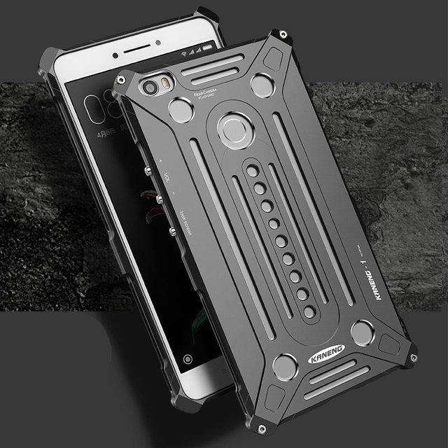 Para xiaomi mi max caso original de metal de alumínio completa protector capa para xiaomi mi max (6.44 polegada) Casos de proteção + película de vidro
