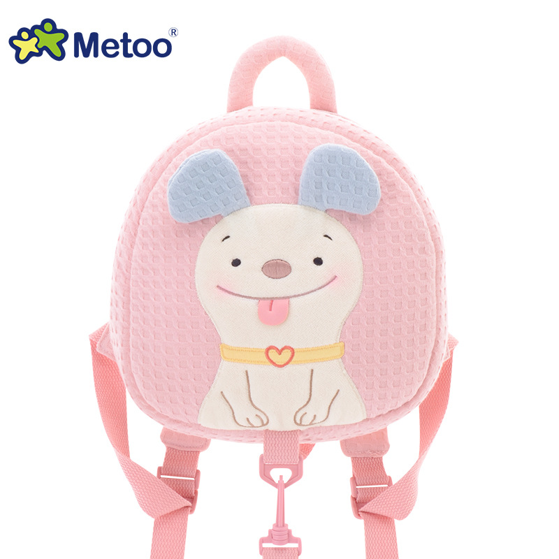 Metoo Kids Baby Bags Animals Cartoon Kids Doll Toy Children Shoulder Bag for Kindergarten Angela Rabbit Girl Plush Backpacks
