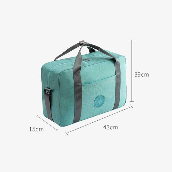 Waterdichte Reistas Vrouwen Mannen Nylon Folding Handtassen Unisex Bagage Reis Plunjezak Business Luxe Organizer Trolley tas