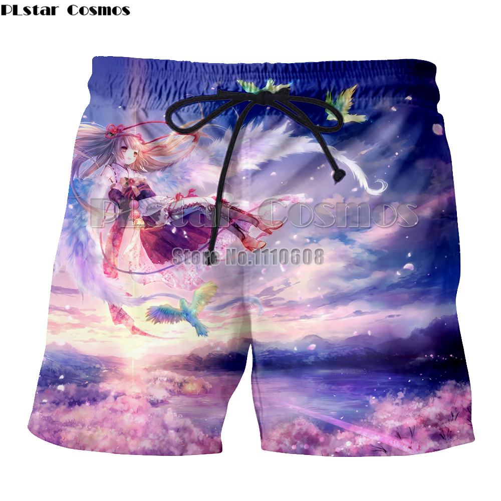 Yx Girl 3d Print Unisex Darling In The Re Zero Two Cute Girls Men Shorts Beach Casual Shorts Board Shorts Trousers Buy One Get One Free Men's Clothing