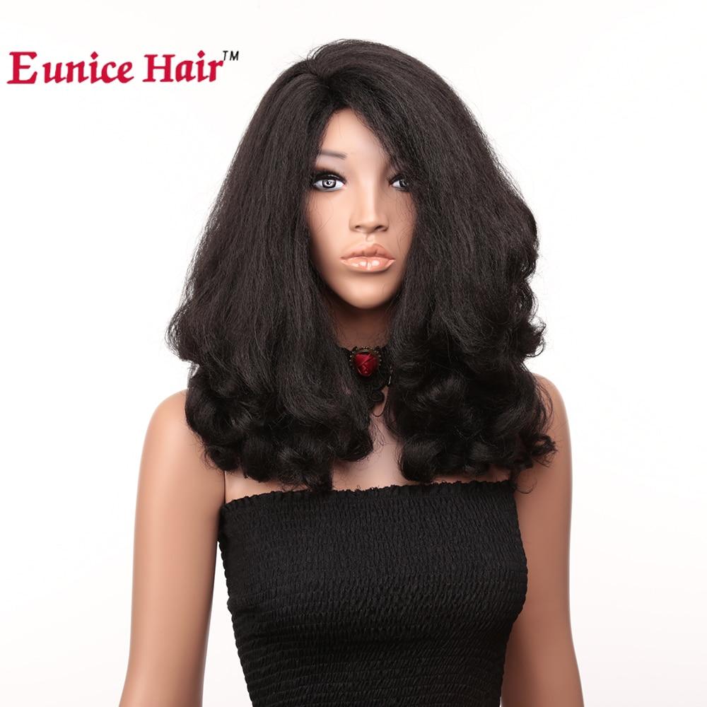 Eunice 20 Inch Short Wigs High Temerature Fiber Natural