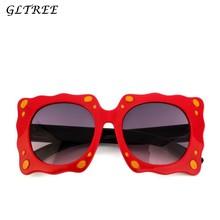 7875237632 GLTREE Cute Cartoon Sponge Sunglasses Children Girls Glasses Boys Butterfly Black  Sun glasses Child Mirror Baby Eyewear G120