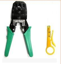 Top Quality RJ45 RJ11 RJ12 Wire Cable Crimper Crimp PC Network Tool, Free Shipping Wholesale