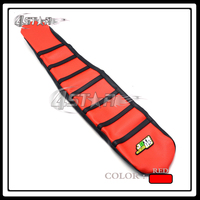 Red And Black Rubber Long Strip Type Motorcycle Gripper Soft Grip Soft Seat Cover For RMZ250