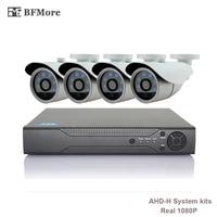 BFMore 4CH AHD 1080P H CCTV System 2 0MP HDMI AHD CCTV DVR IR Outdoor Security