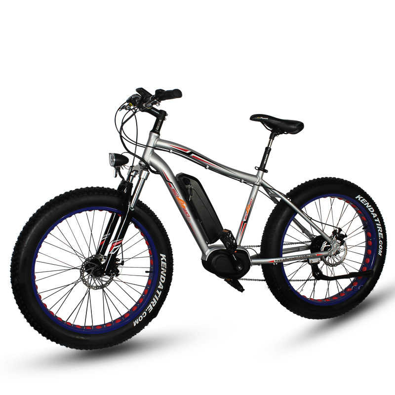 3918c596dbf 26inch electric mountain bike fat type 4.0 Snow beach cross-country bicyle bafang  mid motor