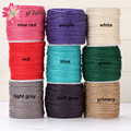 20m/lot 2mm Flax Jute Twine String Hemp Rope Colored Twisted Cotton Cord White Woven Drawstring Diy Necklace Jewelry Decorative