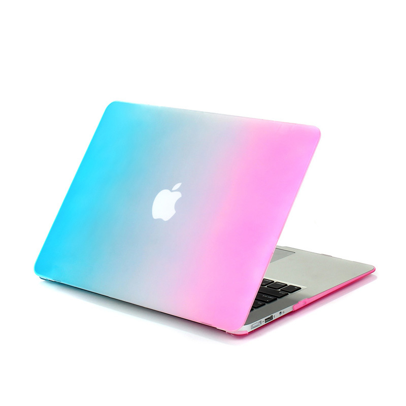Rainbow matte Air 13 case for macbook Air cases 13.3 inch A1369 A1466 laptop bag hard cover for apple mac book air 13 sleeve