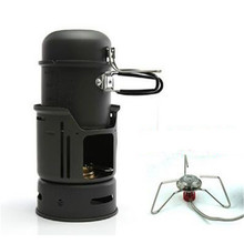 POINT BREAK Super light outdoor set of pan 1-2 people with wind alcohol stove The CW – C01 outdoor gas furnace