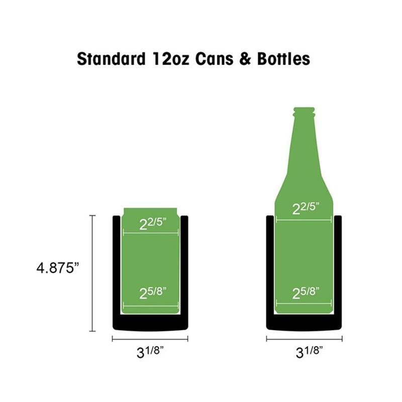 RVS Bierfles Cooler Blik/Fles Houder Dubbelwandig Vacuüm Geïsoleerde Bierfles Koeler Bar accessoires 4