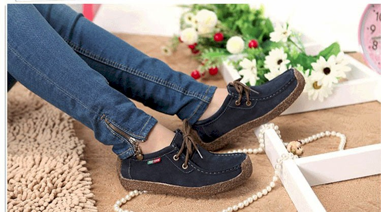 Summer style women casual shoes 2016 new fashion leather women shoes solid lace up flat shoes woman chaussure femme BT468 (13)