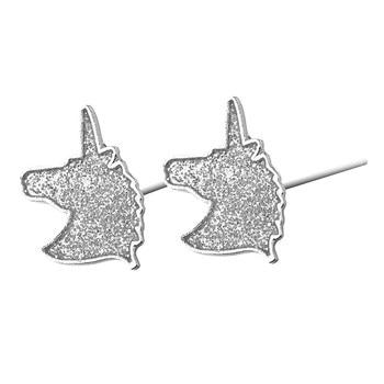 Charming Crystal Unicorn Earrings