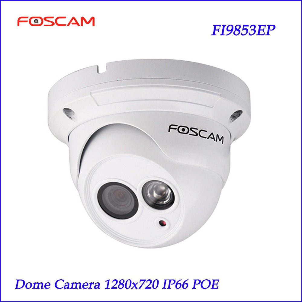 foscam fi9853ep p2p hd poe dome ip camera 1 0 megapixel hd. Black Bedroom Furniture Sets. Home Design Ideas